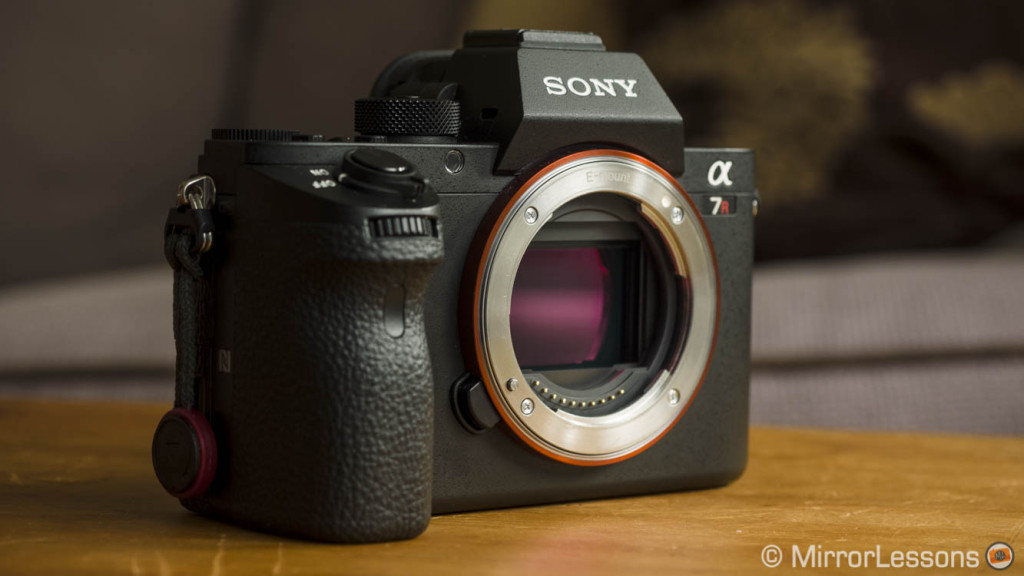 Sony announces firmware update 3.30 for the Sony A7rII