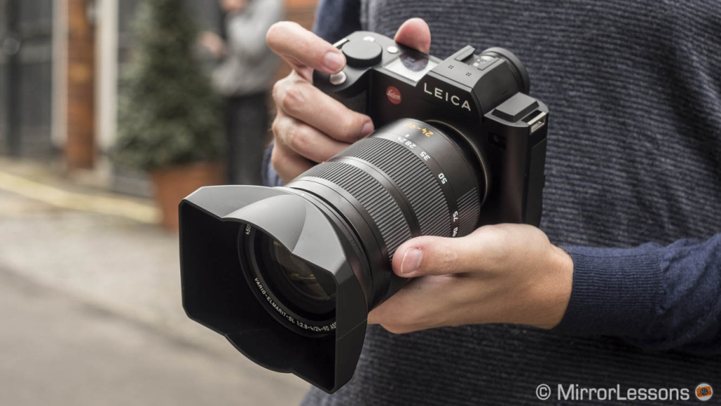 New software, firmware updates and adapter for the Leica SL