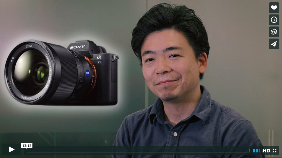 Cinema5D interviews Yutaka Iwatsuki, senior manager for product planning, about the A7 series