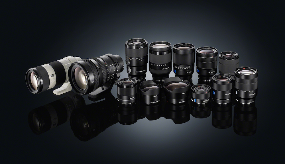 Sony updates the firmware of many E-mount lenses and the LA-EA3 adapter