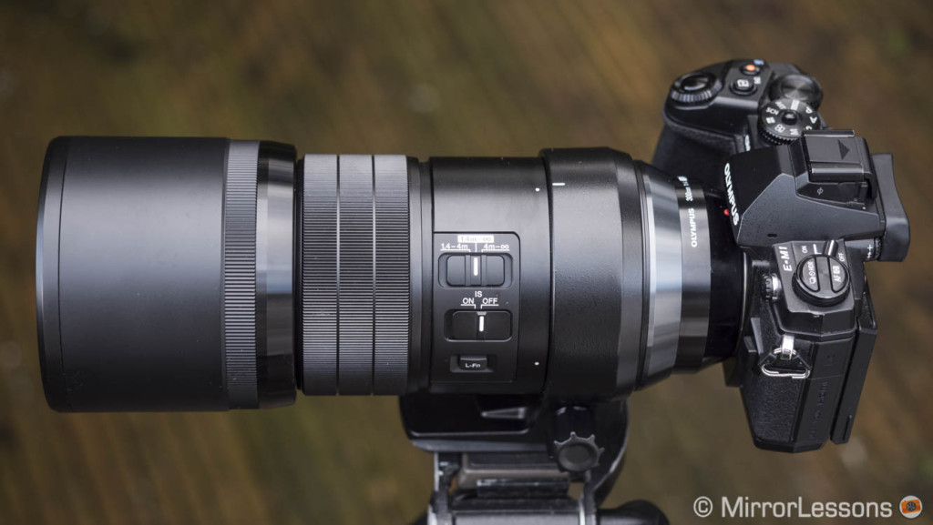 Firmware updates for Olympus M.Zuiko 40-150mm, 8mm fisheye and 300mm