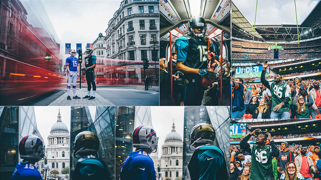 NFL on the streets of London – A Sony FE gallery by Gavin Hardy