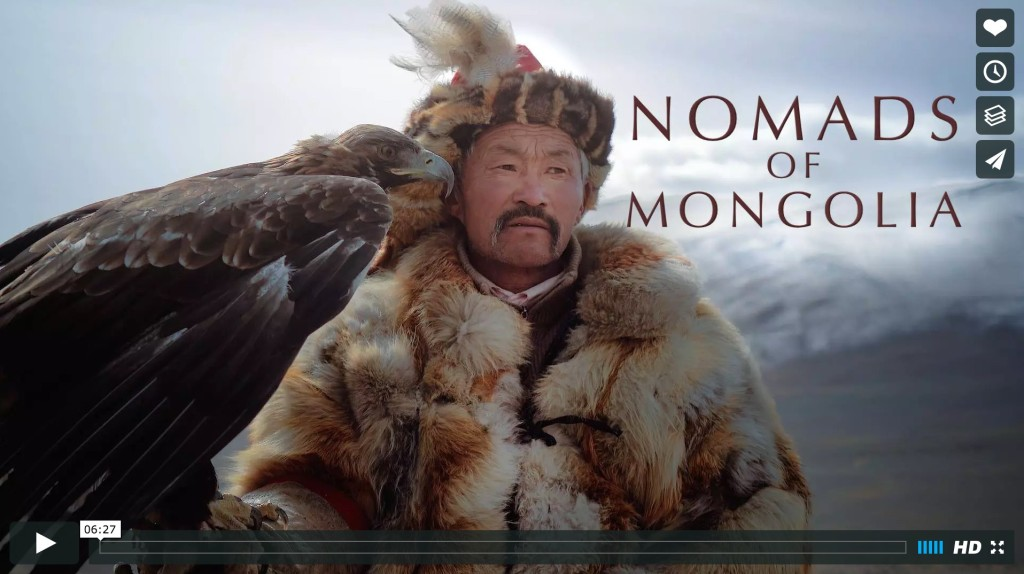 Brandon Li films the Nomads of Mongolia with the A7r II and RX10 II