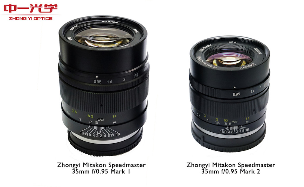 ZY Optics releases the Mitakon Speedmaster 35mm f/0.95 Mark II (Sony E, Fuji X and EOS-M mount)