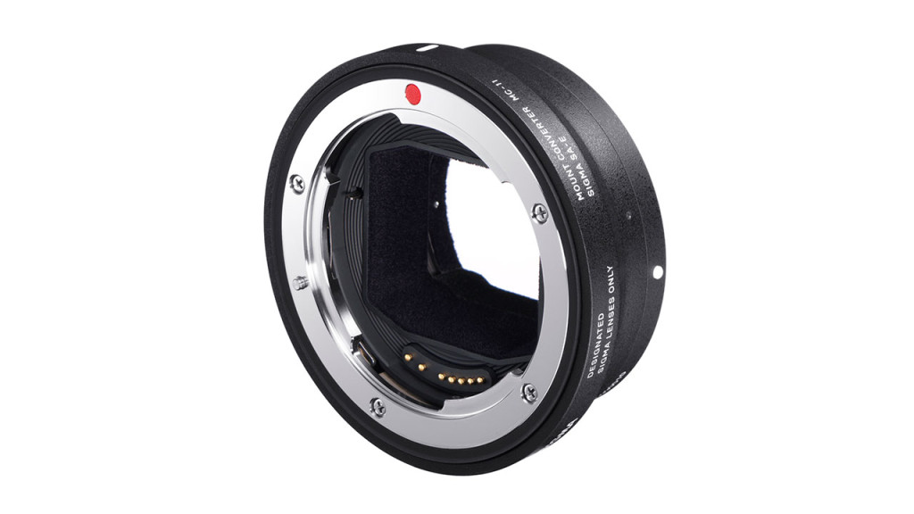 The new Sigma MC-11 adapter for Sony E-mount