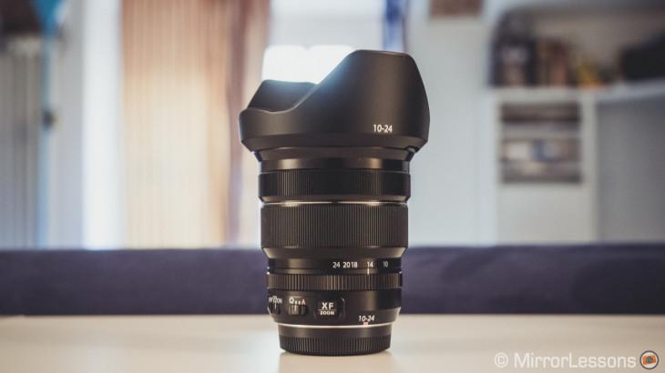 fuji x series wide angle lens