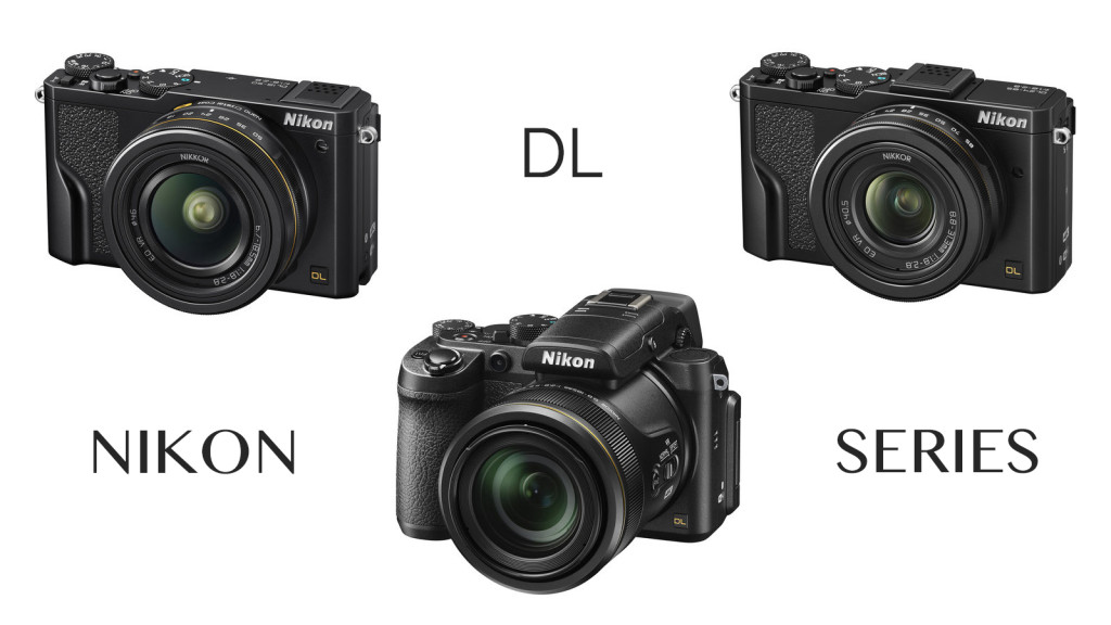 Nikon DL 18-50mm, 24-85mm, and 24-500mm join the 1-inch premium compact segment