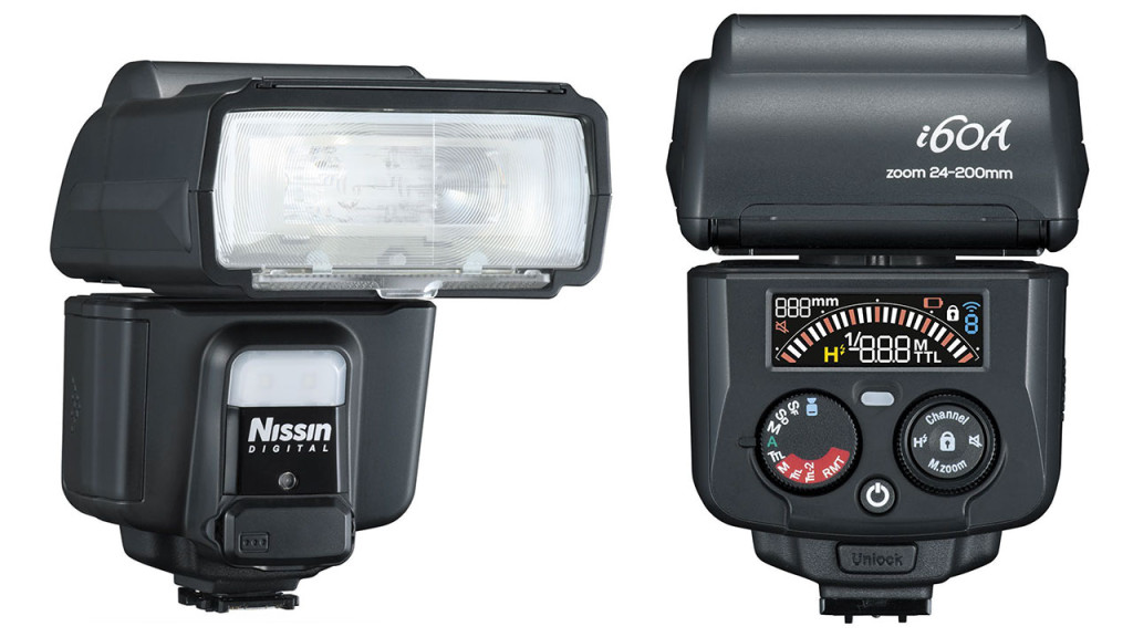 Nissin announces the i60A Speedlight with radio receiver