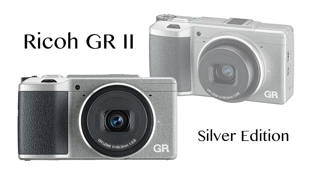 Ricoh GR II Silver Version commemorates Ricoh Company's 80th anniversary