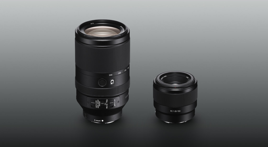 Sony announces the FE 70-300mm f/4.5-5.6 and FE 50mm f/1.8