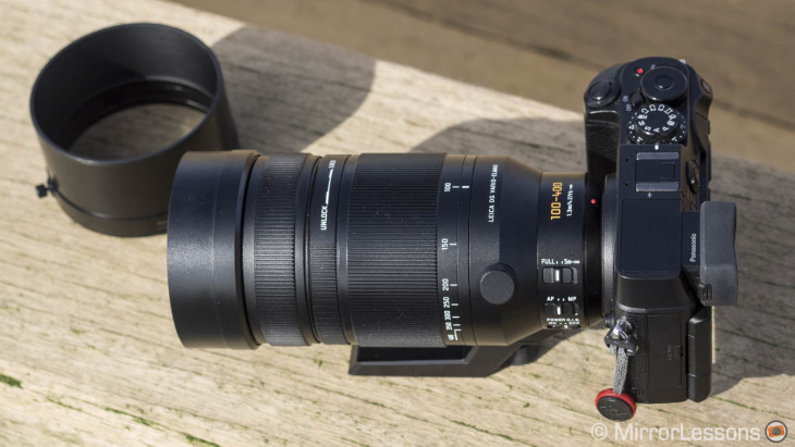 Panasonic Leica 100-400mm f/4-6.3 put to extreme winter weather test in Japan