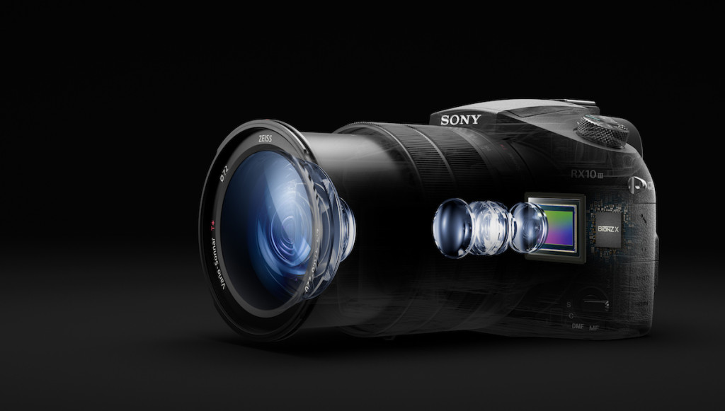 Sony announces the RX10 III with a 24-600mm super zoom