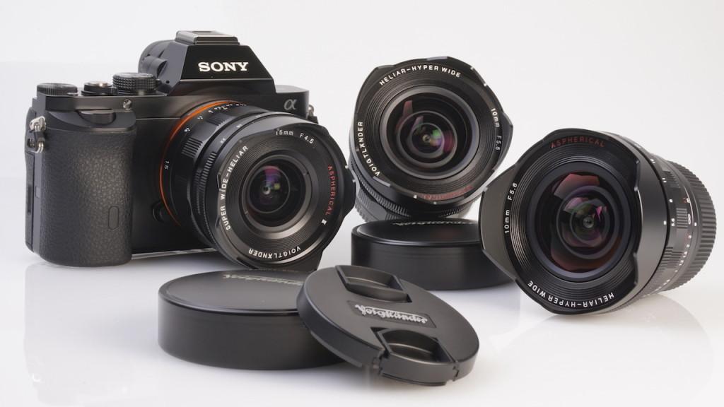 More information about the Cosina Voigtlander E-mount lenses