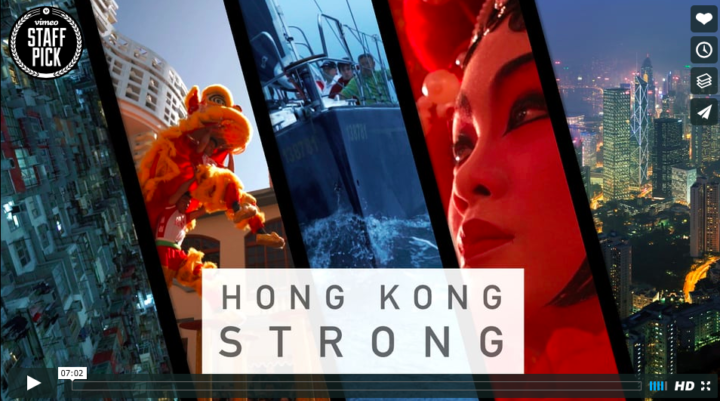 Brandon Li releases latest film 'Hong Kong Strong' shot on Sony cameras