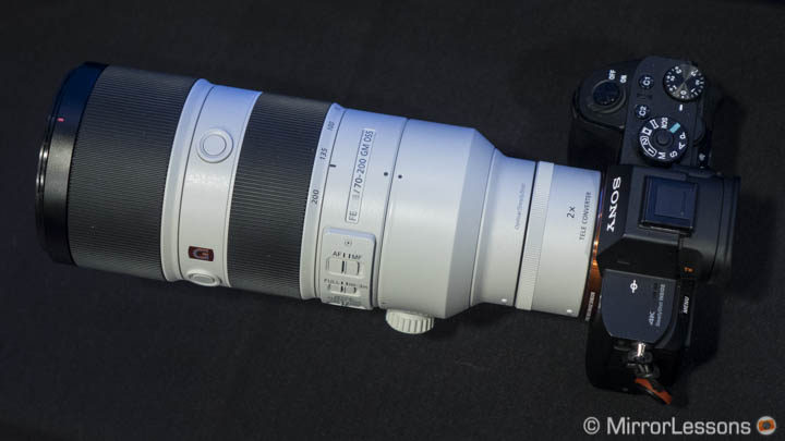 Firmware update for A7/a6000 cameras adds compatibility with FE 70-200mm f/2.8 GM