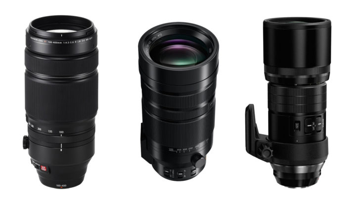 Telephoto Battle: Panasonic 100-400mm vs. Fuji 100-400mm vs. Olympus 300mm