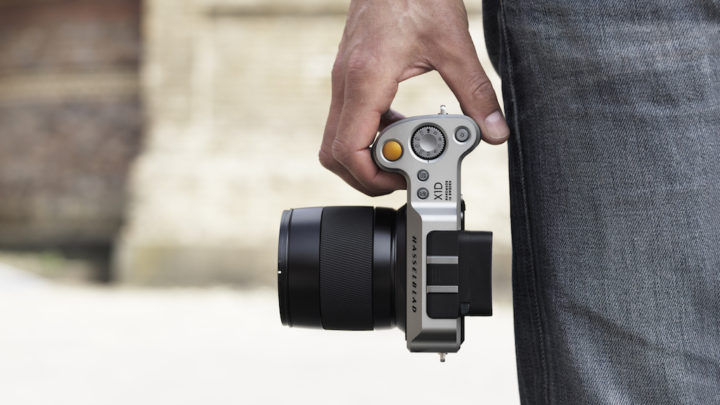 Say 'hello' to the Hasselblad X1D-50c, the company's first mirrorless medium format camera