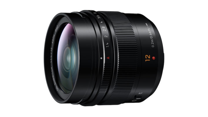 Panasonic announces the Summilux 12mm f/1.4 for Micro Four Thirds