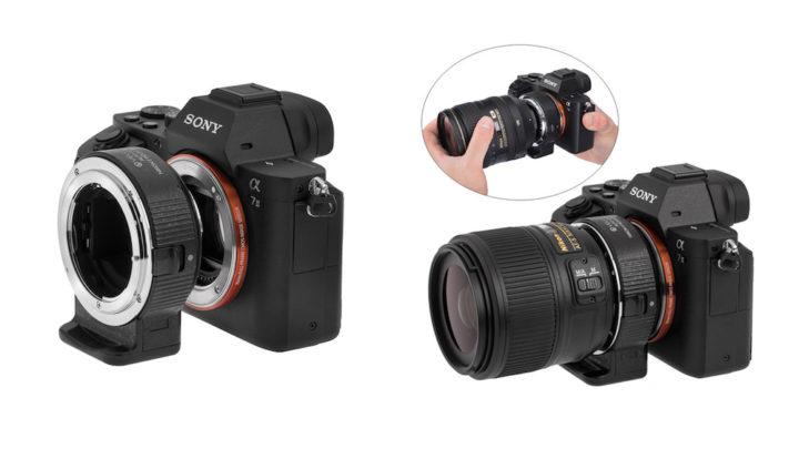 Brian Smith tests Vello Nikon to Sony E-mount Adapter (Autofocus) with Nikon F lenses
