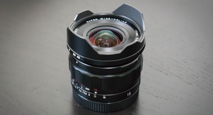 Voigtlander 15mm f/4.5 Heliar III for Sony E mount