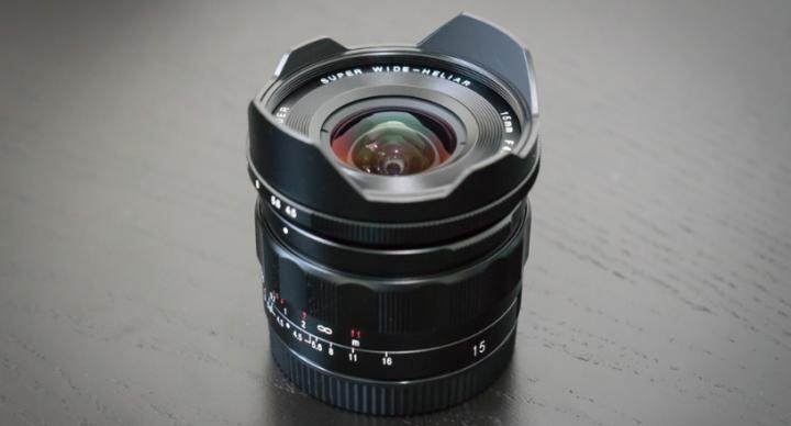 Voigtlander 15mm f/4.5 Heliar III for Sony E mount