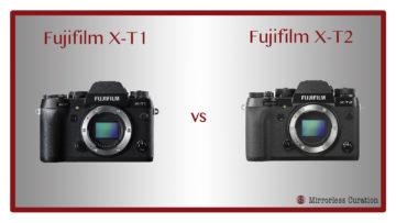 fuji x-t1 vs x-t2