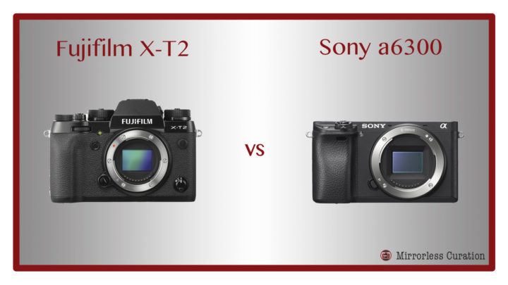 The 10 Key Differences Between the Fujifilm X-T2 and Sony a6300
