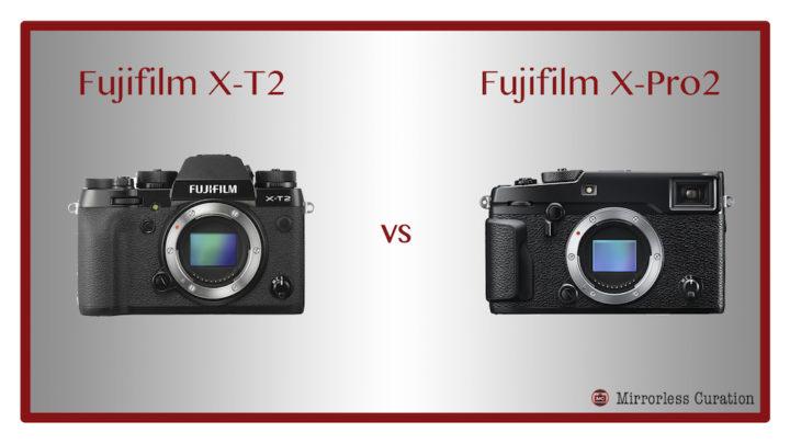 fuji xt2 vs xpro2