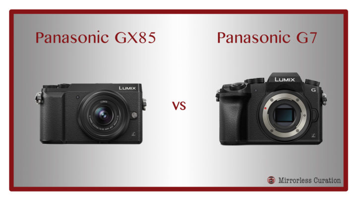 The 10 Key Differences Between the Panasonic GX80 / GX85 and G7
