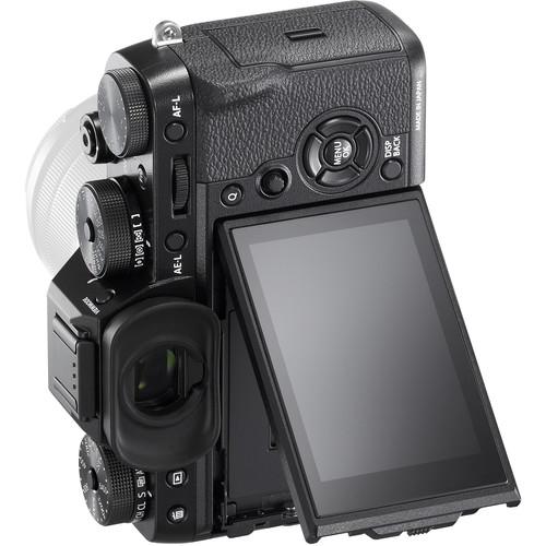 Fujifilm X-T2's tilting screen in portrait orientation