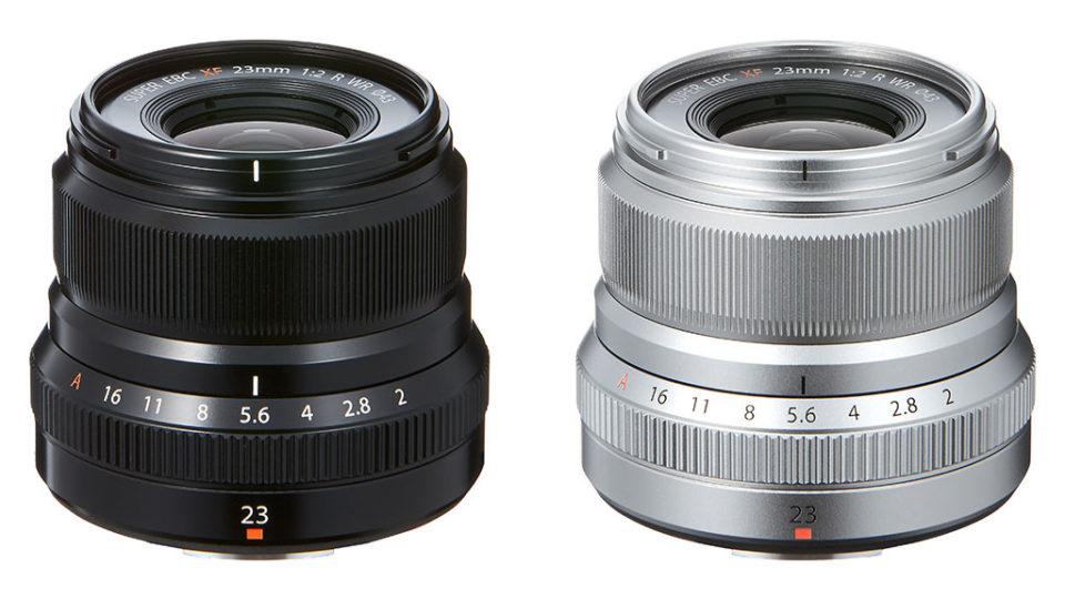 Fujifilm announces the long-awaited XF 23mm f/2 R WR