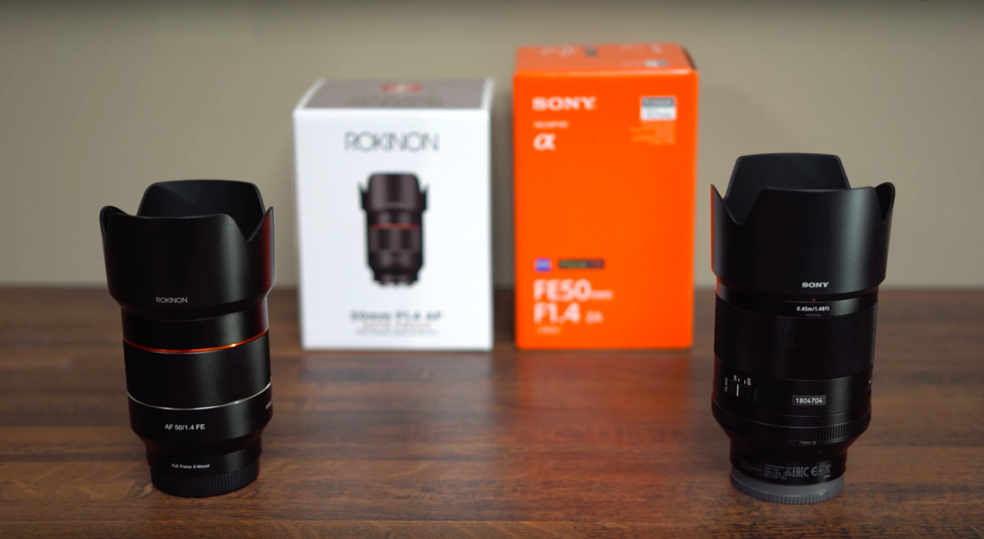 Samyang 50mm f/1.4 vs Sony 50mm F1.4