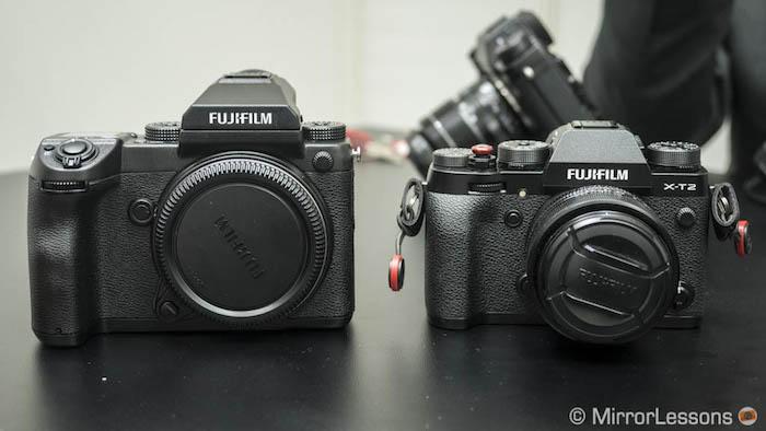 fujifilm gfx vs xt2