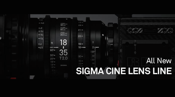 Sigma announces eight Cine Lenses for Sony E-mount