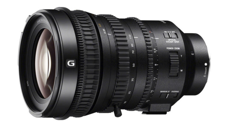 Sony has announced the 18-110mm f/4.0 OSS PZ E-mount lens