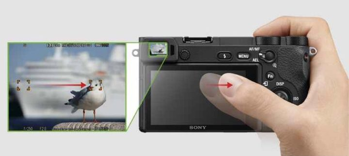 sony a6500 touch screen