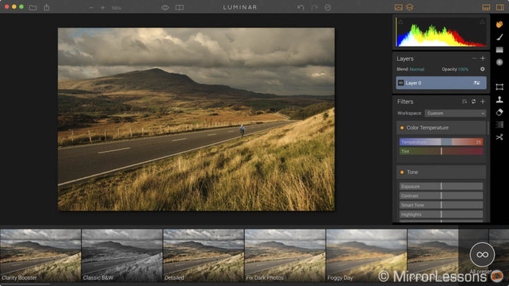 You can now try Macphun Luminar for free