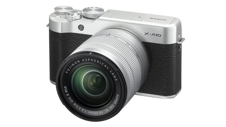 Fujifilm announces the entry level X-A10