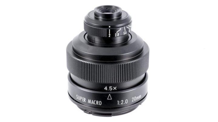 Zhongyi Mitakon 20mm f-2.0 4.5X Super Macro Lens