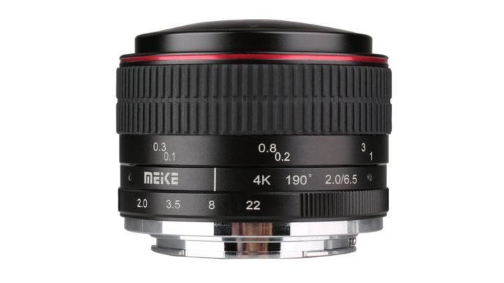 New 6.5mm f/2 Ultra Wide Fisheye from Meike