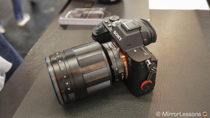Voigtlander announces three new full-frame E-mount lenses at CP+