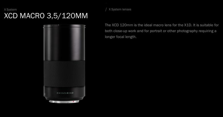 Hasselblad announces four new lenses for medium format X1D
