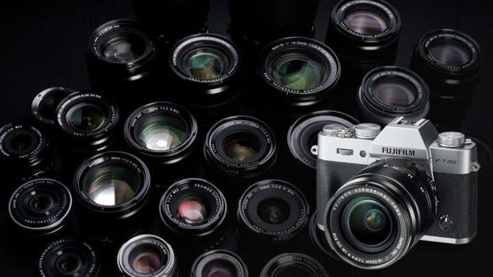 best fuji xt20 lenses