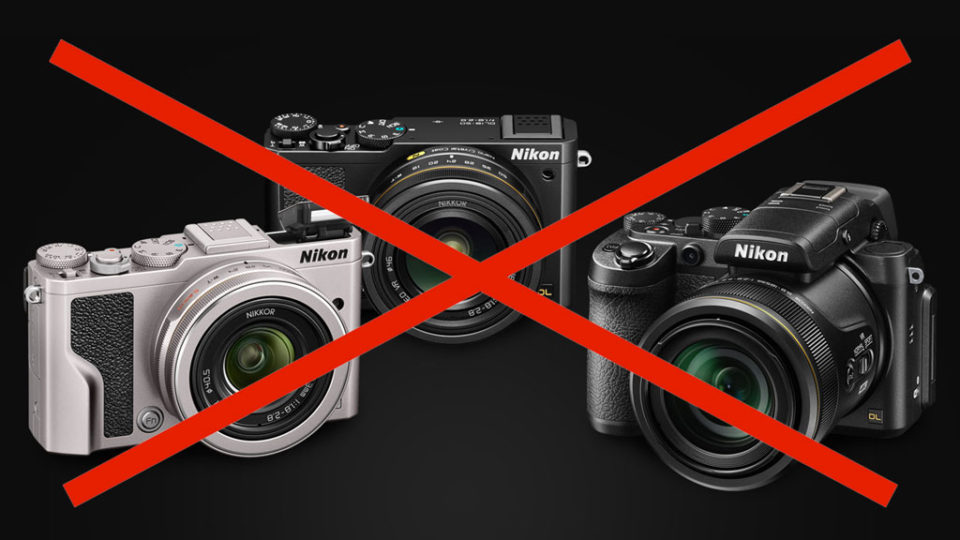 Nikon drops the DL series and faces extraordinary loss
