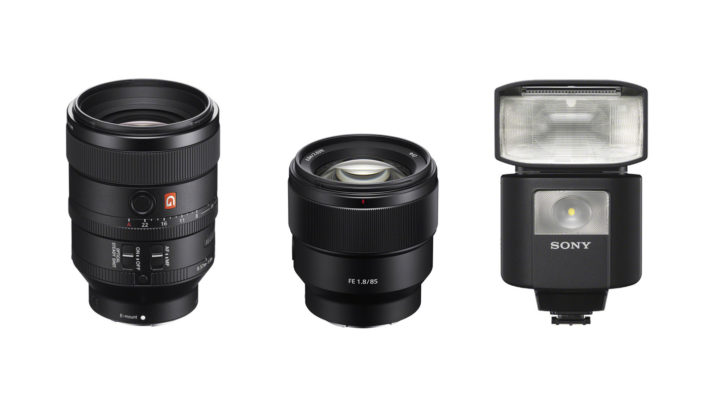 Sony announces FE 100mm f/2.8 G Master, FE 85mm f/1.8 and HVL-F45RM radio controlled flash