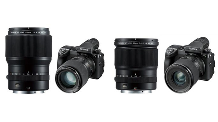 Fujifilm announces two lenses, a firmware update and new roadmap for the GFX system