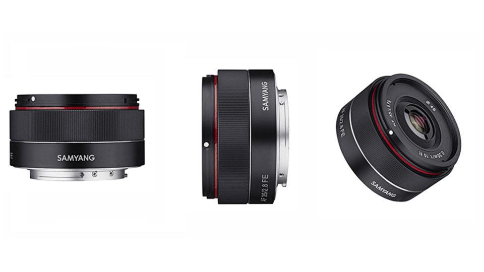 New lens: Samyang AF 35mm f2.8 FE – Release date, price and official specs