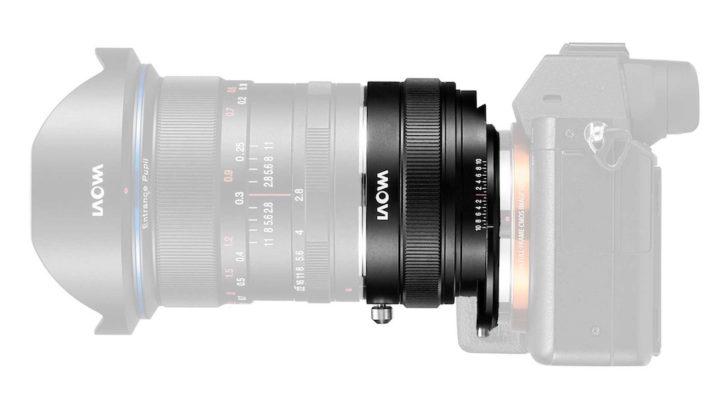 Venus Optics announces the Laowa Magic Shift Converter for the E-mount cameras