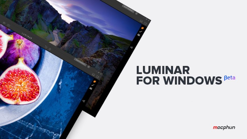 Macphun Luminar is now available for Windows and you can try it for free