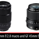 Fujifilm announces the XF 80mm f/2.8 macro and GF 45mm f/2.8